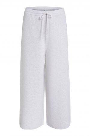 Oui Luxury Cream Knit Pants