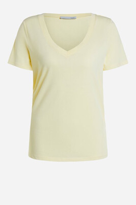 Organic Cotton Pale Yellow T-Shirt