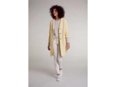 Light Yellow Classic Cut Coat