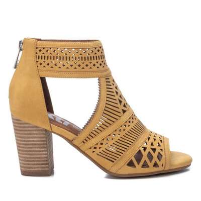 Amarillo Shoe Boot with Cut Out Detail