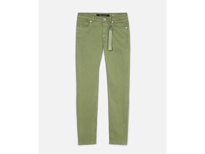 SUSTAINABLE LULEA Slim Mid-Waist Dried Sage Jean