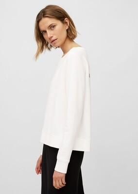 Paper White Organic Cotton Sweatshirt
