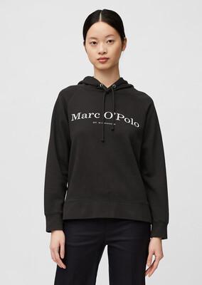 Organic Cotton Hooded Sweatshirt - Dark Atlantic