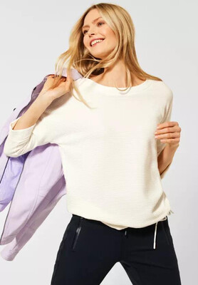 Pure Off White Ottoman Sweatshirt