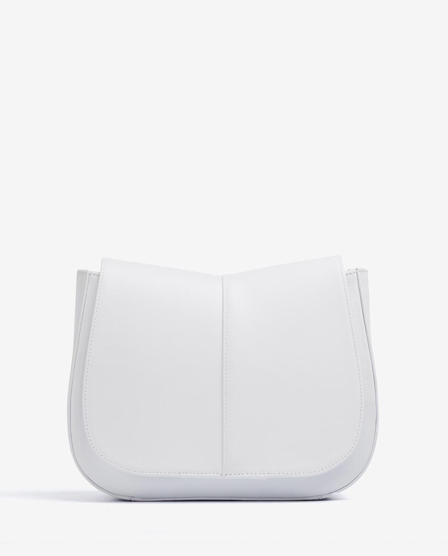 Zllana Medium Leather Bag with Braided Shoulder Strap