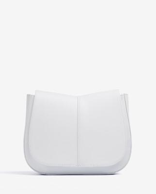llana Medium Leather Bag with Braided Shoulder Strap