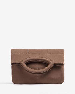 galate Kid Suede Folded Flap Bag