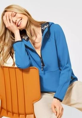 Athleisure Sweatshirt Provence Blue
