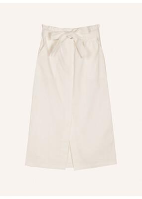 White Essone Midi Skirt