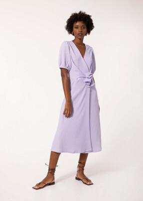 Lilac Aries Midi Dress