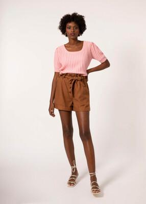 Rose Short Sleeve Knit
