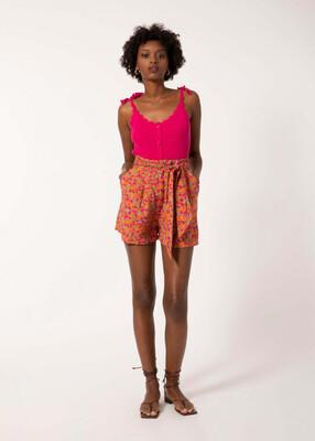 Orange & Pink Davina Shorts