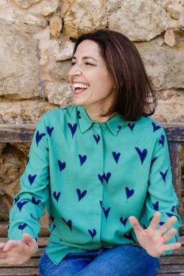 Joy Green, Heart Shirt