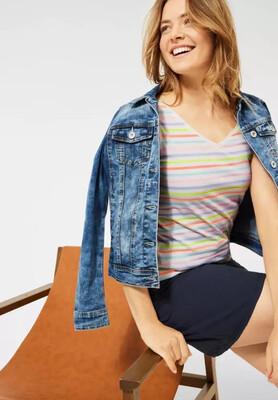 Multicolor Stripe T-Shirt