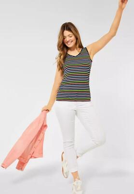 Multicolor Stripe Top