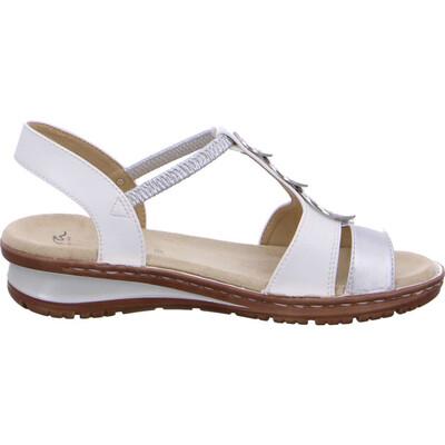 Hawaii Silver & White Lightweight Sandal
