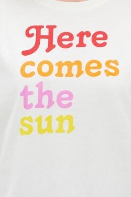 Here Comes The Sun Organic Cotton Tee UK