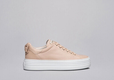Blush Pink Bow Trainer