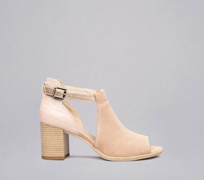 Blush Pink Shoe Boot