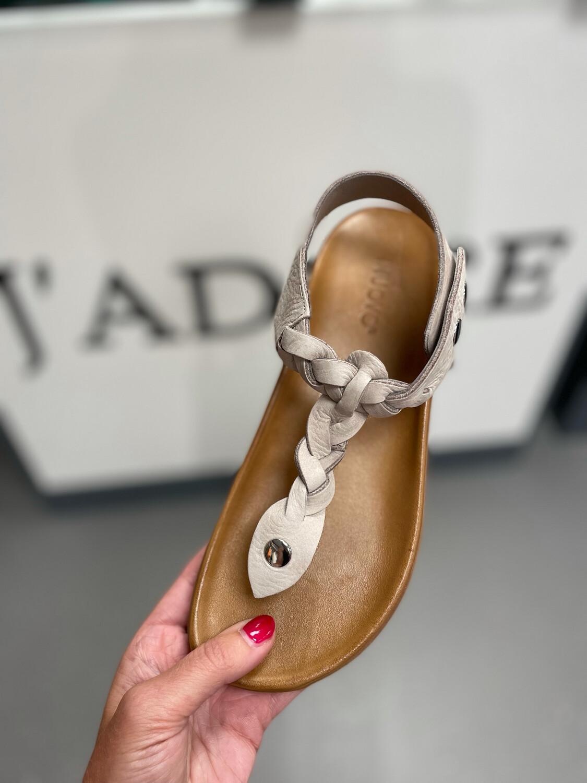 Grey Rope Sandal