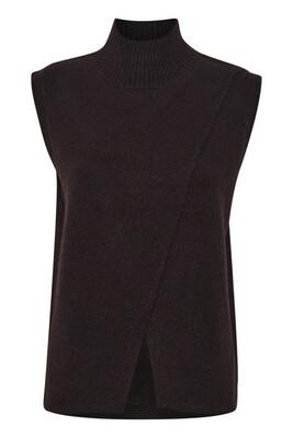 Kataris Black Knit Vest