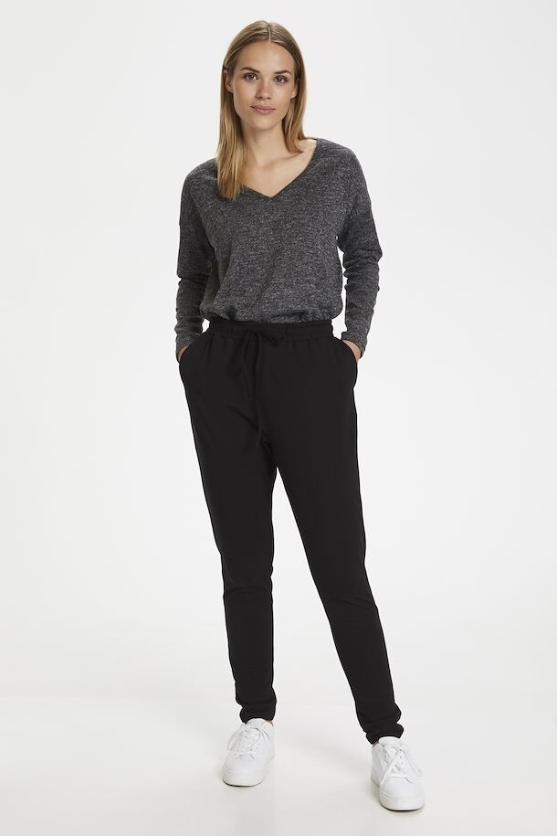 Linda Black Casual Pants