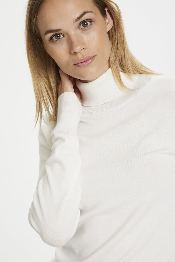 Astrid Off White Roll Neck