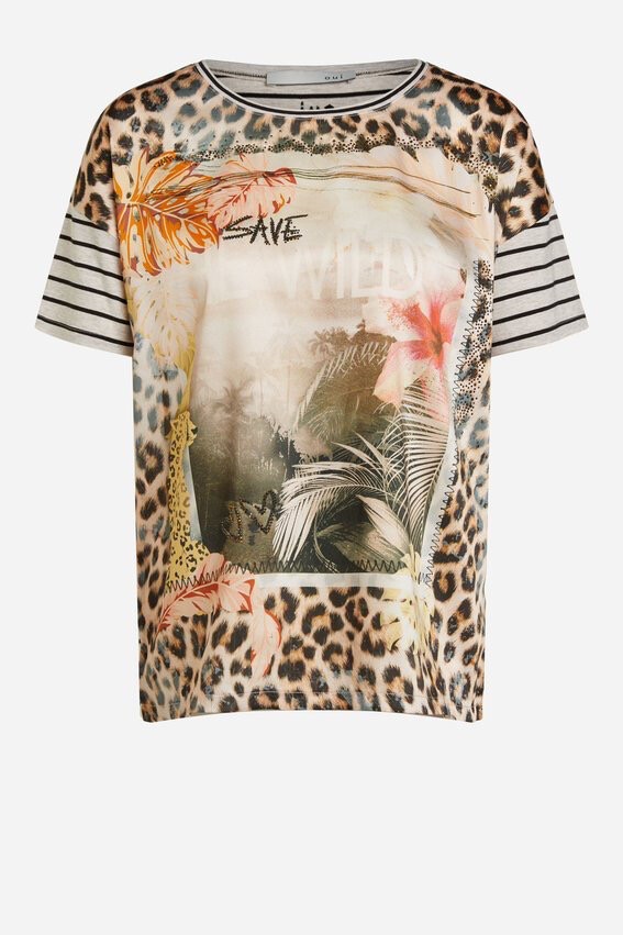 Save The Wild Leopard T- Shirt