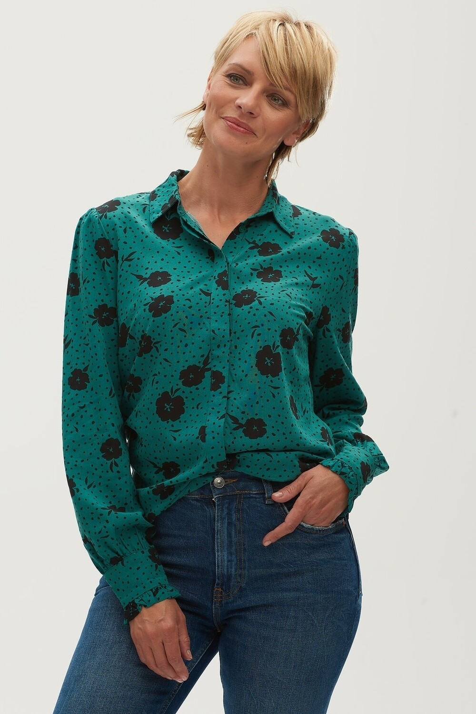 Vanessa Green Floral Shirt
