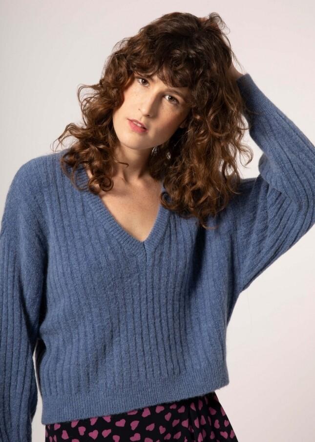 Narla Blue Knit