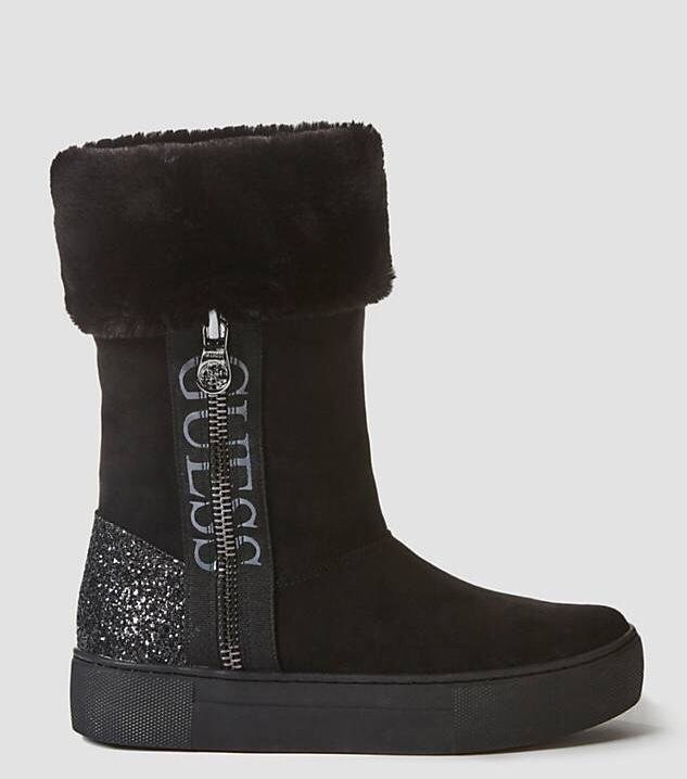 Marsie Boot With Faux Fur