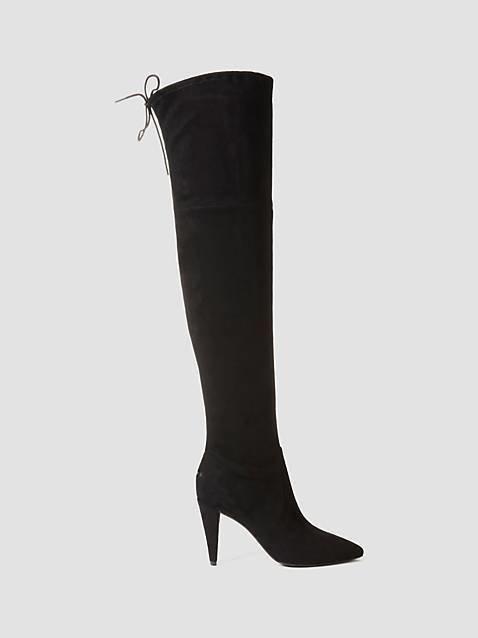 Norris Suede-Look Long Boot