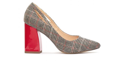 Laives Check Court Shoe