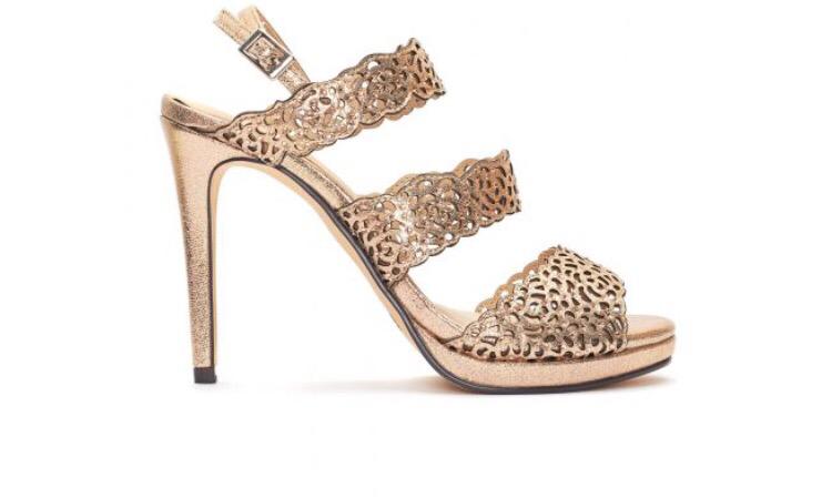 Morelli Rose Gold Sandal