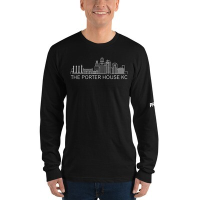 Long sleeve City Backdrop t-shirt