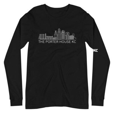 Unisex Long Sleeve Back drop Tee