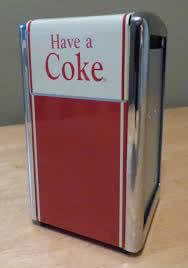 Have a Coke Napkin Holder