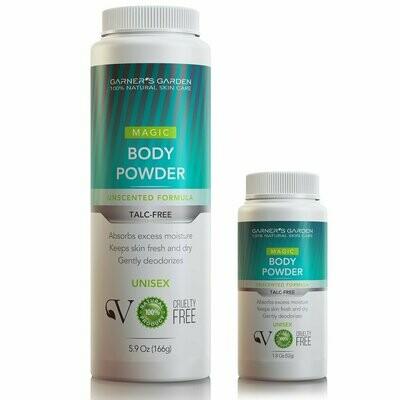 Garner's Garden Natural Body Powder - Talc Free