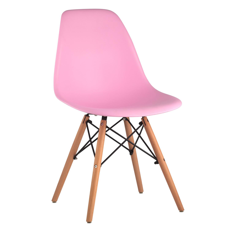 Стул Eames розовый