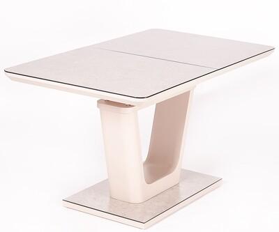 Стол Hant мат.латте/кремовый (140-180)х80х76