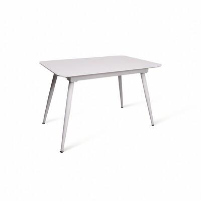 Стол Airat белый/белый (120-160)х80х76 см