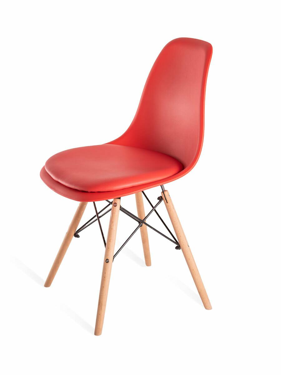 Стул Eames soft красный