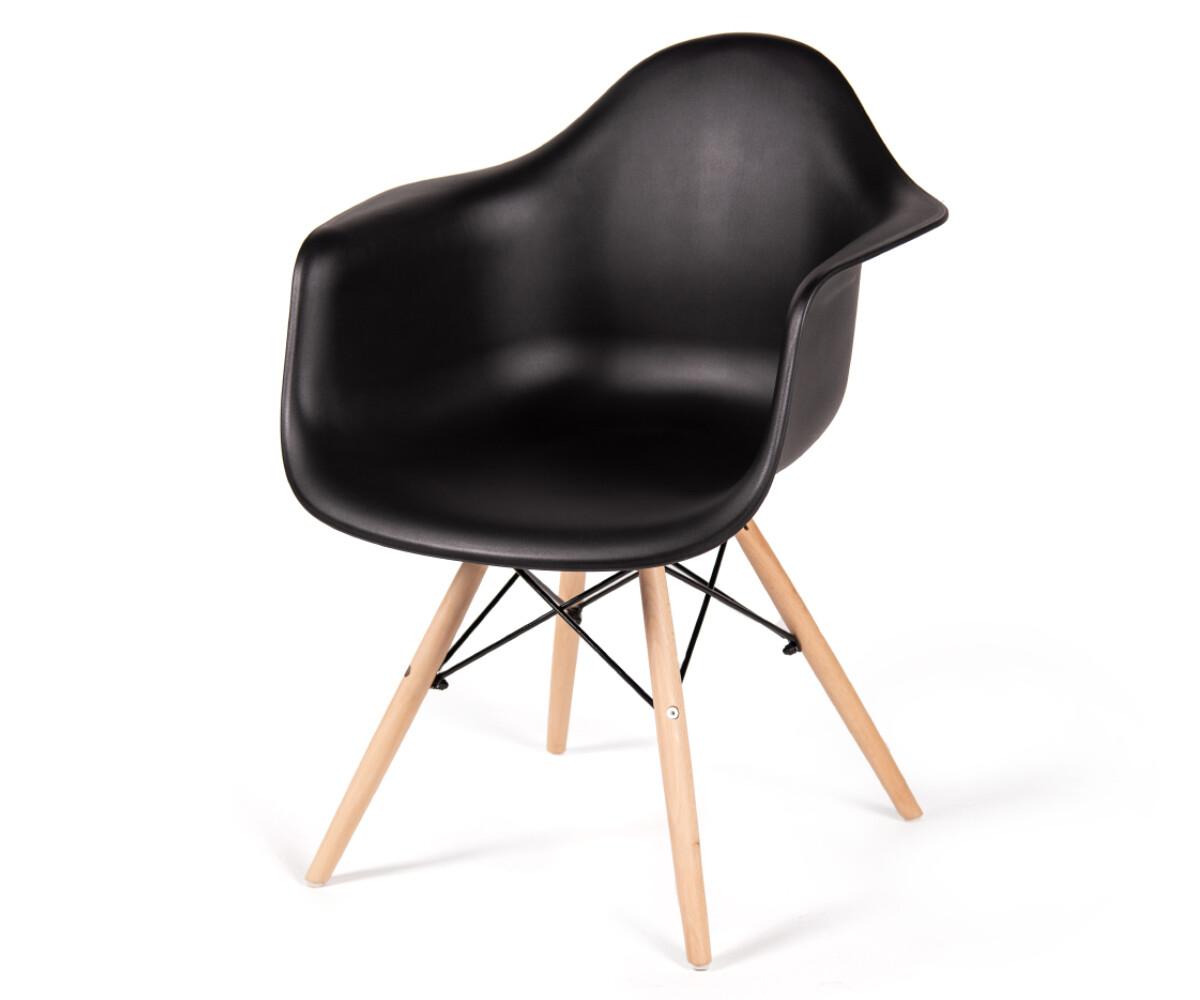 Стул-кресло Eames черный