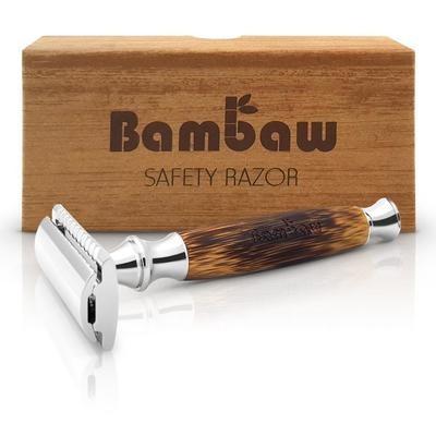 Nachhaltiger Rasierer aus Bambus - ohne Plastik