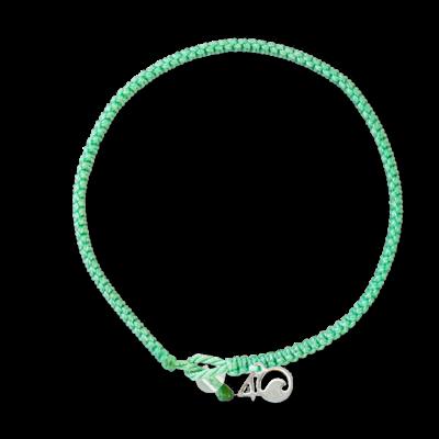 4Ocean Loggerhead Sea Turtle - Das geflochtene unechte Karettschildkröten Armband