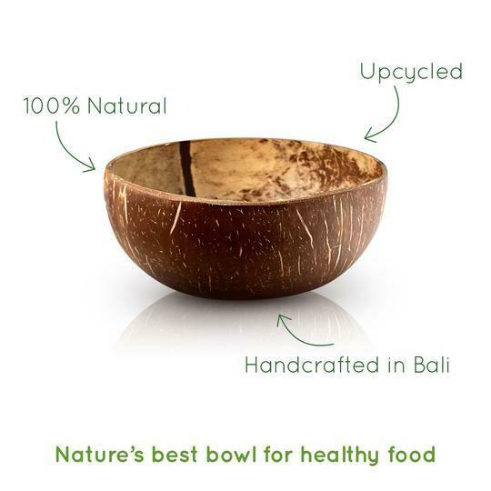 Biologische Kokosnussschale von Bambaw - poliert