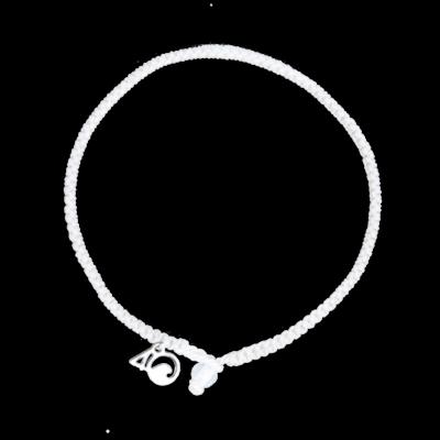 4Ocean Polar Bär Armband - geflochten