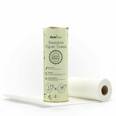 Wiederverwendbare Bambuspapierhandtücher - der Umwelt zuliebe!