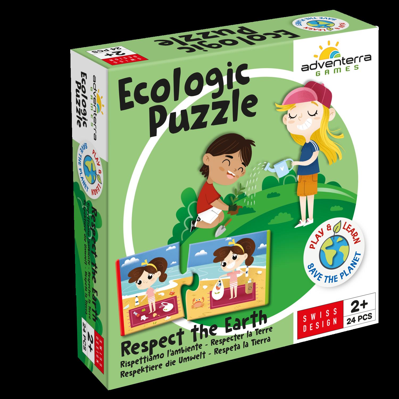 Ecologic Puzzle - Respektiere die Umwelt!