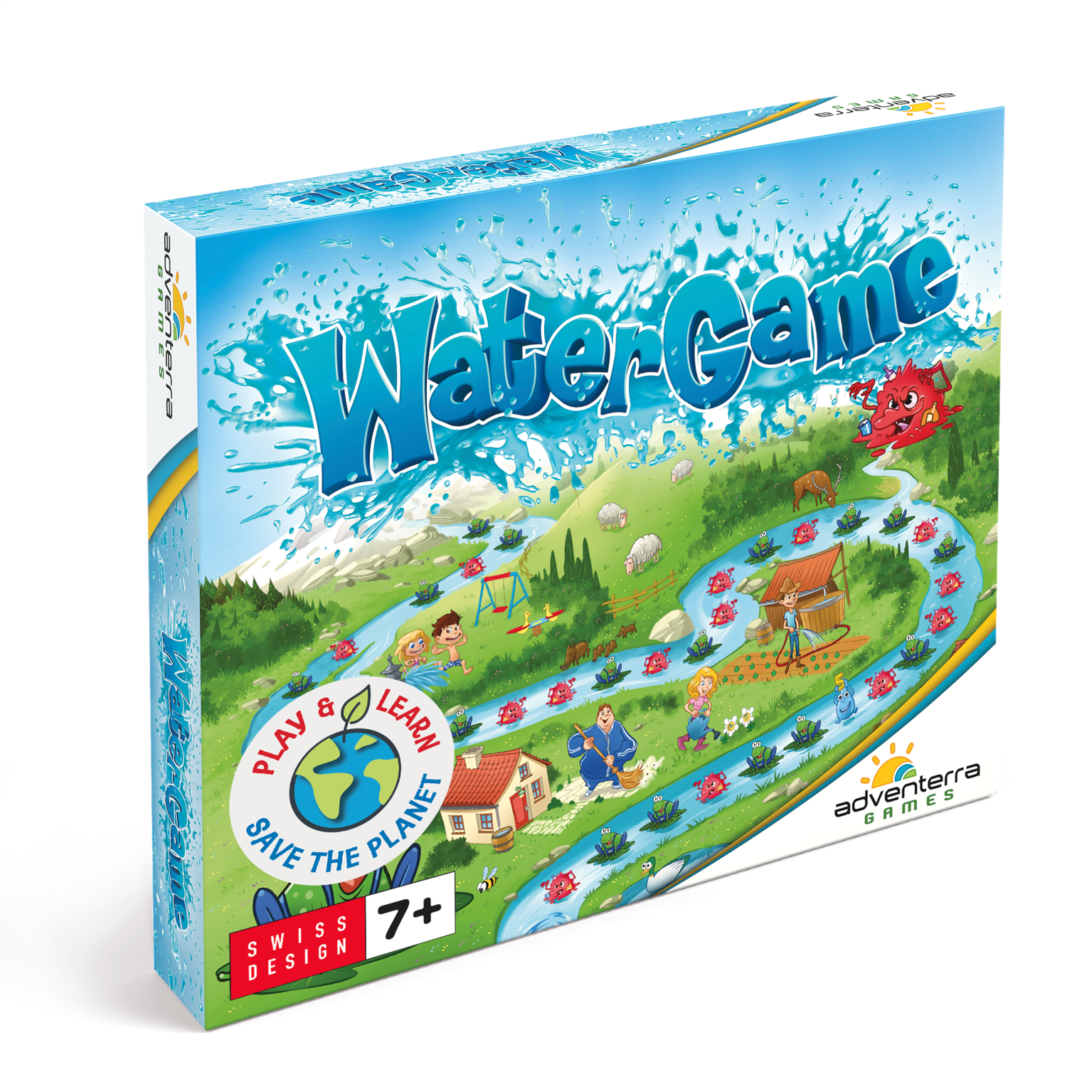 Ecologic Puzzle - Water Game!